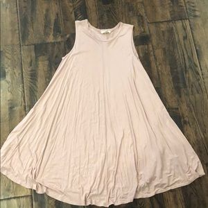 LIGHT PINK URBAN OUTFITTERS DRESS